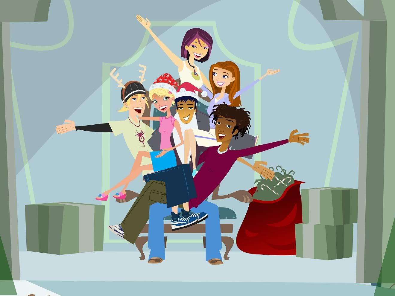 Nickelodeon'un Türkiyede Yayınlanmayan Programları 6Teen_Xmas_01