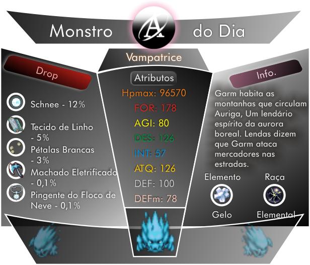 Monstros Bestiary-Garm