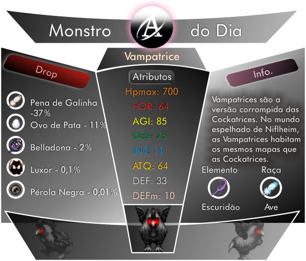 Monstros Bestiary-Vampatricex