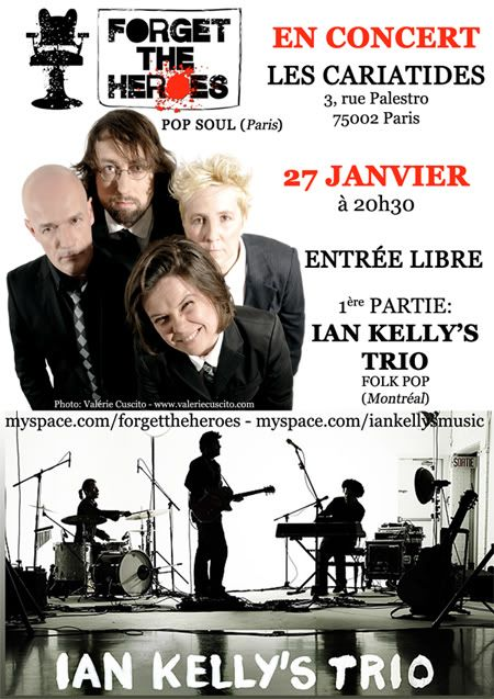 [27.01.11] FORGET THE HEROES + IAN KELLY @ Cariatides 2011-01-27-LesCariatidesM