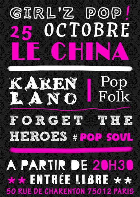 [25/10]Forget The Heroes + Karen Lano 2011-10-25-ChinaM