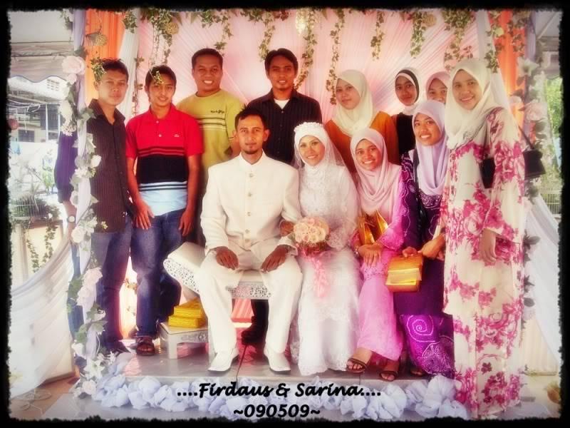 Wedding Sarina(Eina Mesin) & Firdaus 090509 7