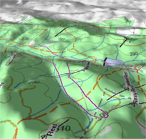 Goldfields of Heathcote Vic. 3D