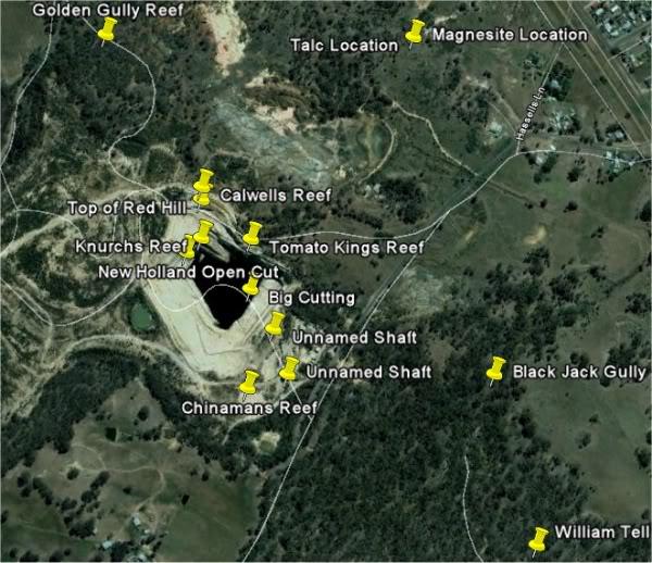 Goldfields of Heathcote Vic. 4google