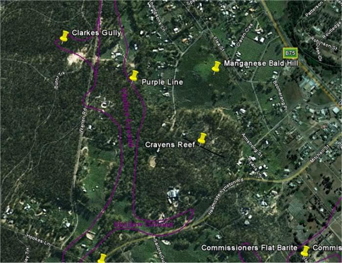 Goldfields of Heathcote Vic. CravensReefgoogle