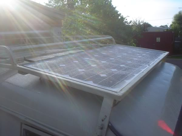 Solar panel mounting Pannel1