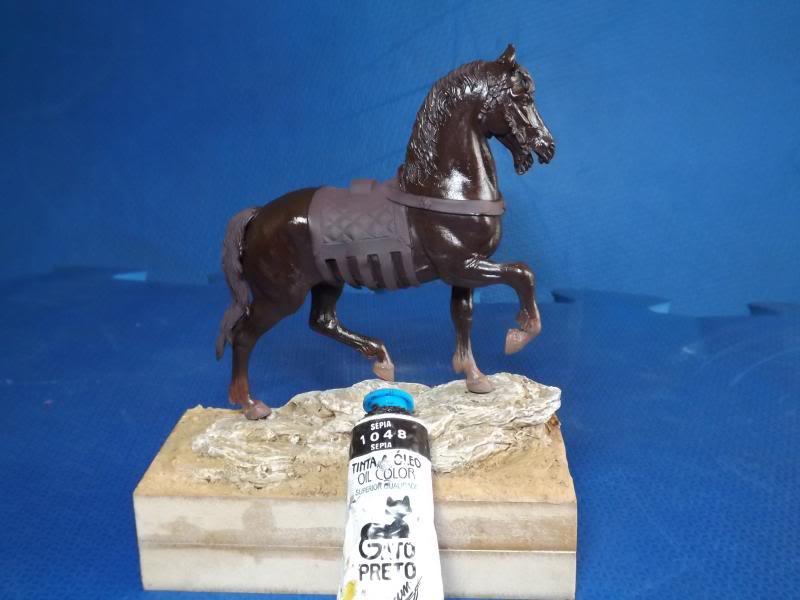 Crusader Knight c.1250 (Mounted) -  Andrea Miniatures 90mm Cruzader008_zps768ead8c