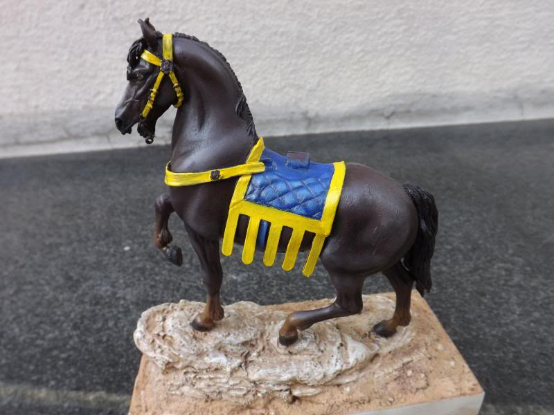 Crusader Knight c.1250 (Mounted) -  Andrea Miniatures 90mm Cruzader015_zpsbca88461