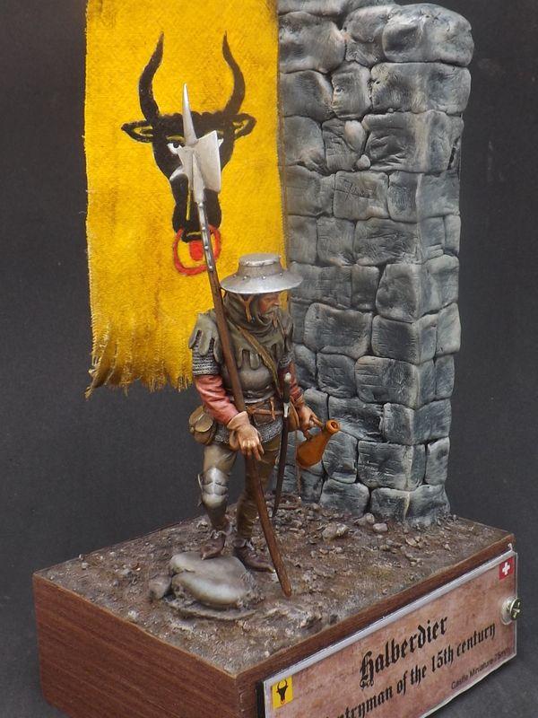 Infantryman of rhe 15th century - Castle Miniatures 75mm - Página 2 Halberder%20061_zpsb9e9siee