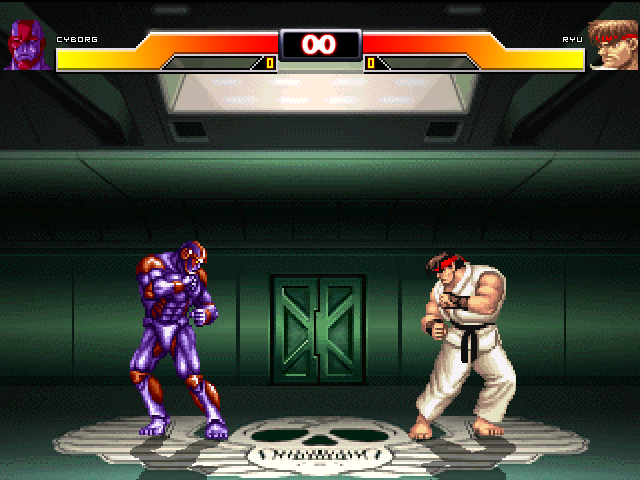 Cyborg (SF2 The Animated Movie) by Zion 02/21/11 Mugen1-12