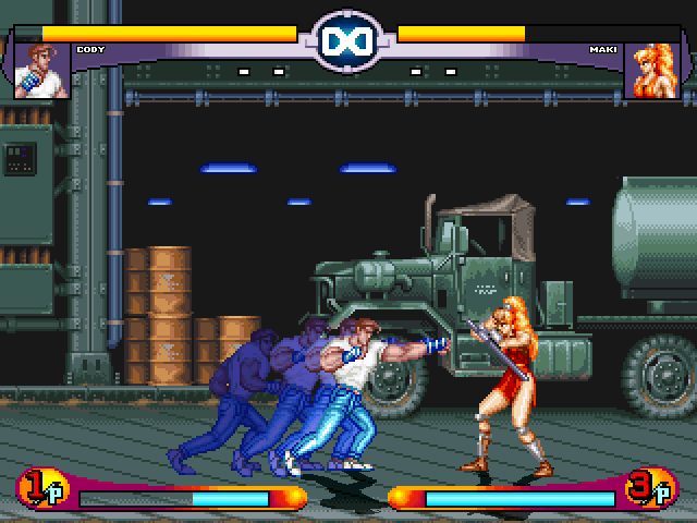 Cody From Final Fight by Zion released 03/02/11 Mugen4-9