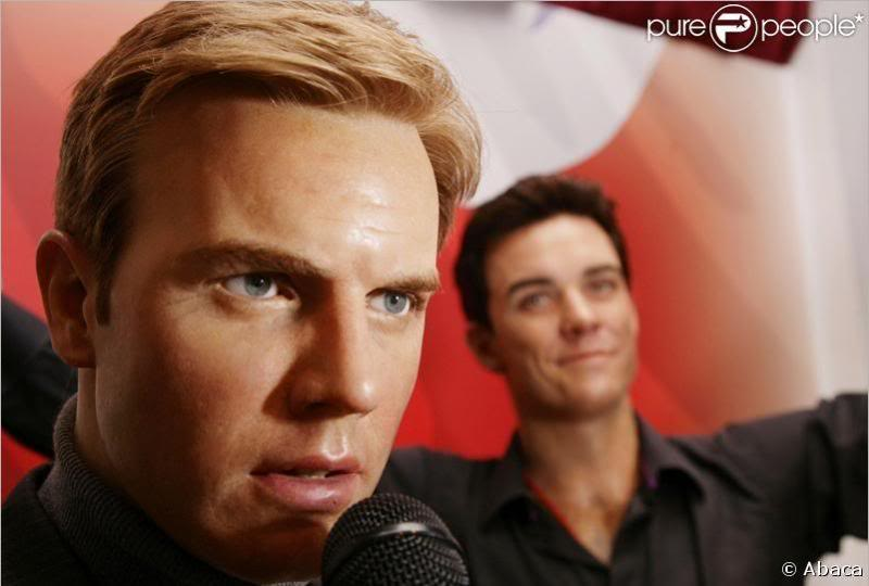statues de cire de Gary et Robbie (Tussauds) 1-1