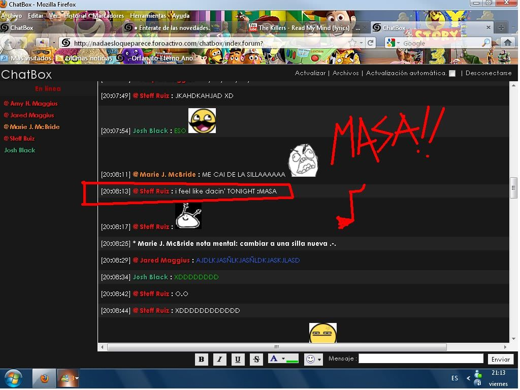 lalalala MASA!! XDDDDDDDDD Masa-steff-3