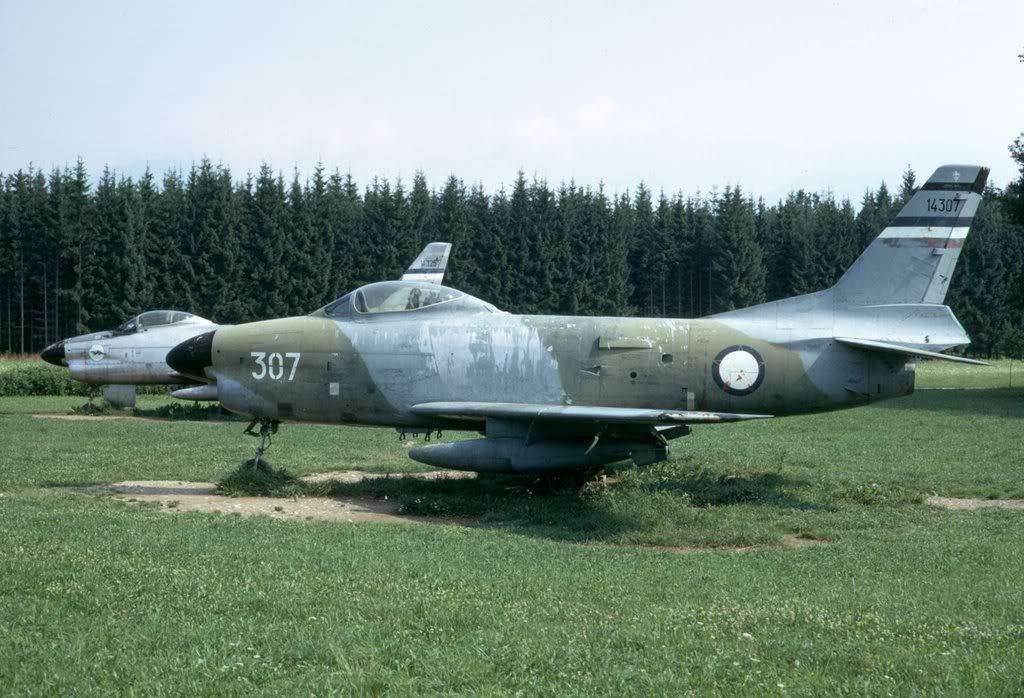 F-86E SABRE / F-86D F-86Yougo