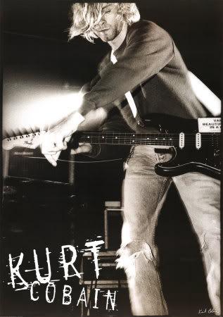 Nirvana! Kurt-Cobain-