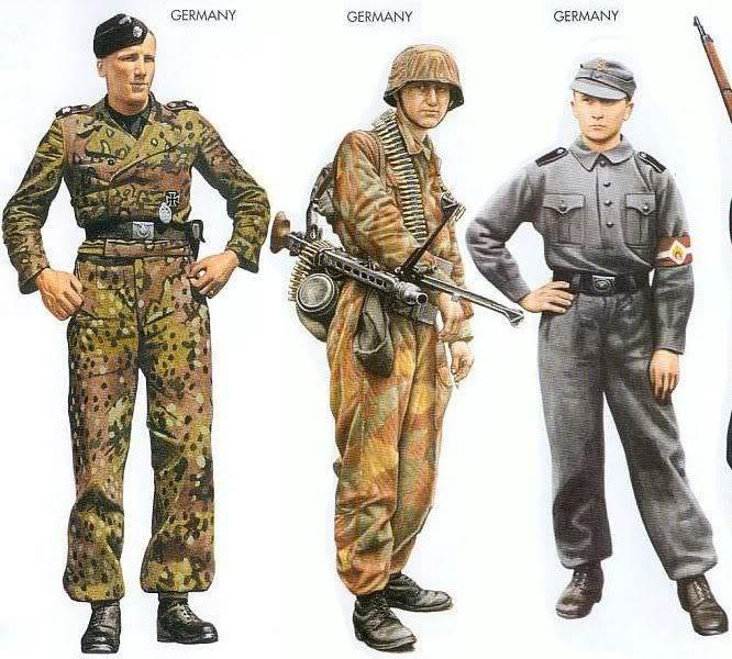 Tankiste allemand Verlinden Uniformes_15-1