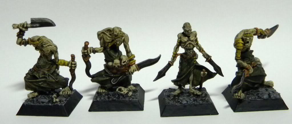 [Mordheim] Hommes de main Morts-vivants Goules
