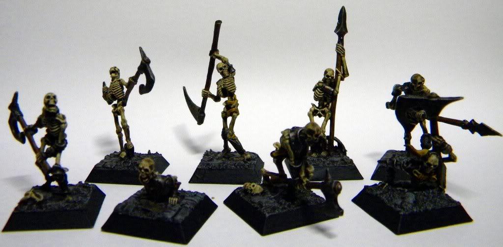 [Mordheim] Hommes de main Morts-vivants Squelettes