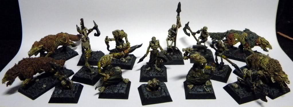 [Mordheim] Hommes de main Morts-vivants Troupaille