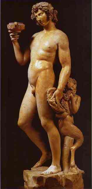 Kipovi - Skulpture, kipovi, spomenici Bacchus