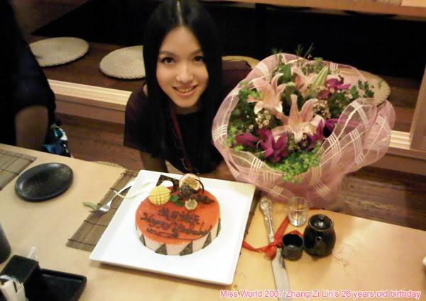Zi Lin Zhang- MISS WORLD 2007 OFFICIAL THREAD (China) - Page 7 26birthday
