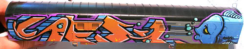 Trenes a escala con GRAFFITIS! 11