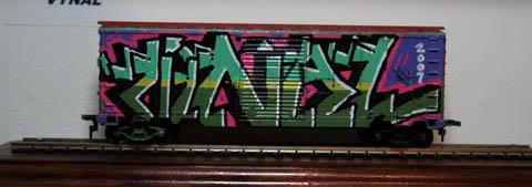 Trenes a escala con GRAFFITIS! Ghettomansion09