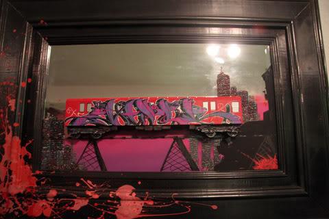 Trenes a escala con GRAFFITIS! Ghettomansion14