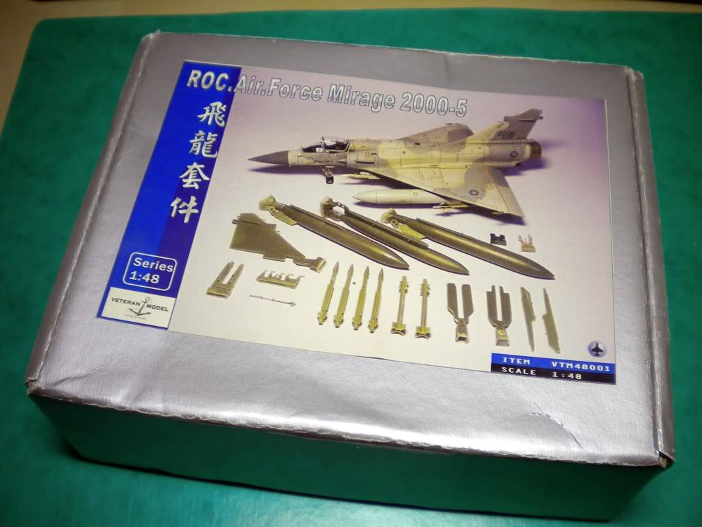 1/48  - Veteran Model - Conversion set Mirage 2000-5 ROCAF DSCN2185