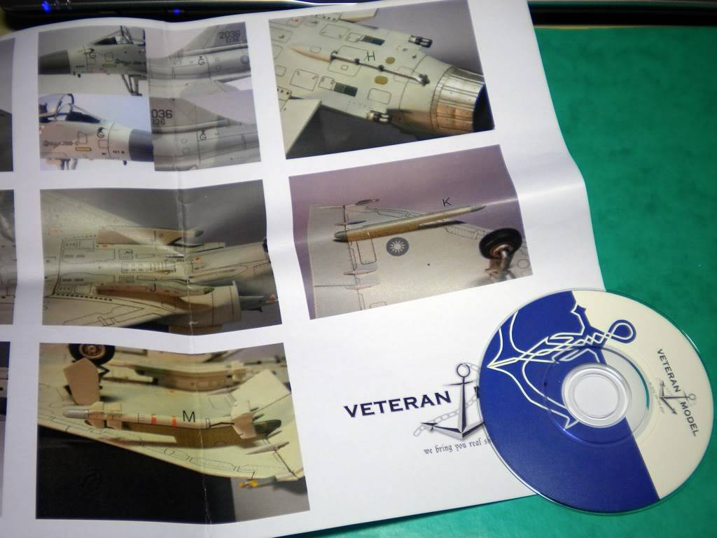 1/48  - Veteran Model - Conversion set Mirage 2000-5 ROCAF DSCN2186