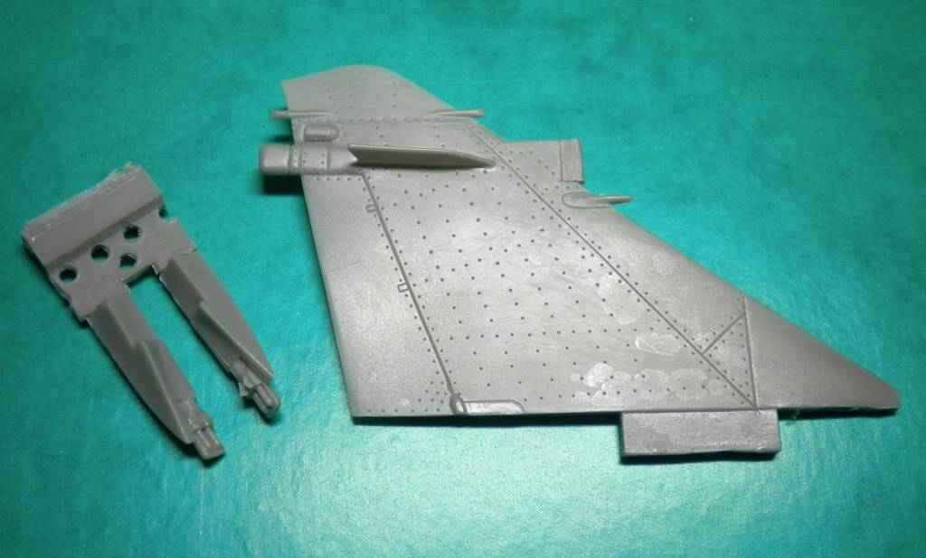 1/48  - Veteran Model - Conversion set Mirage 2000-5 ROCAF DSCN2190