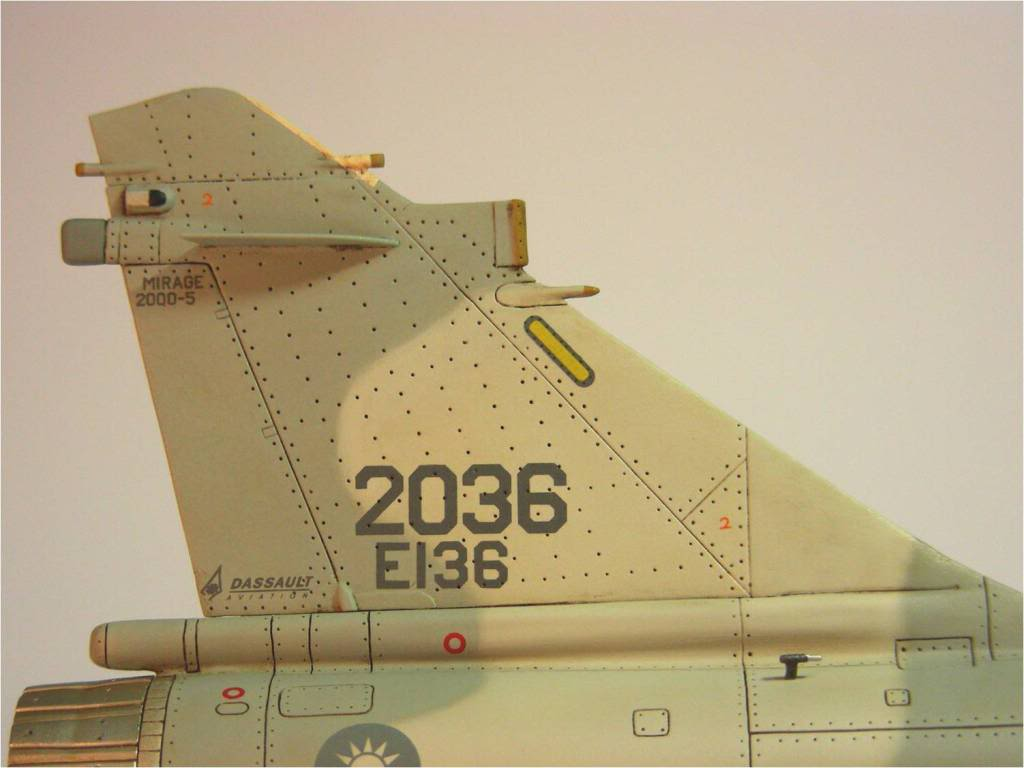 1/48  - Veteran Model - Conversion set Mirage 2000-5 ROCAF Image2
