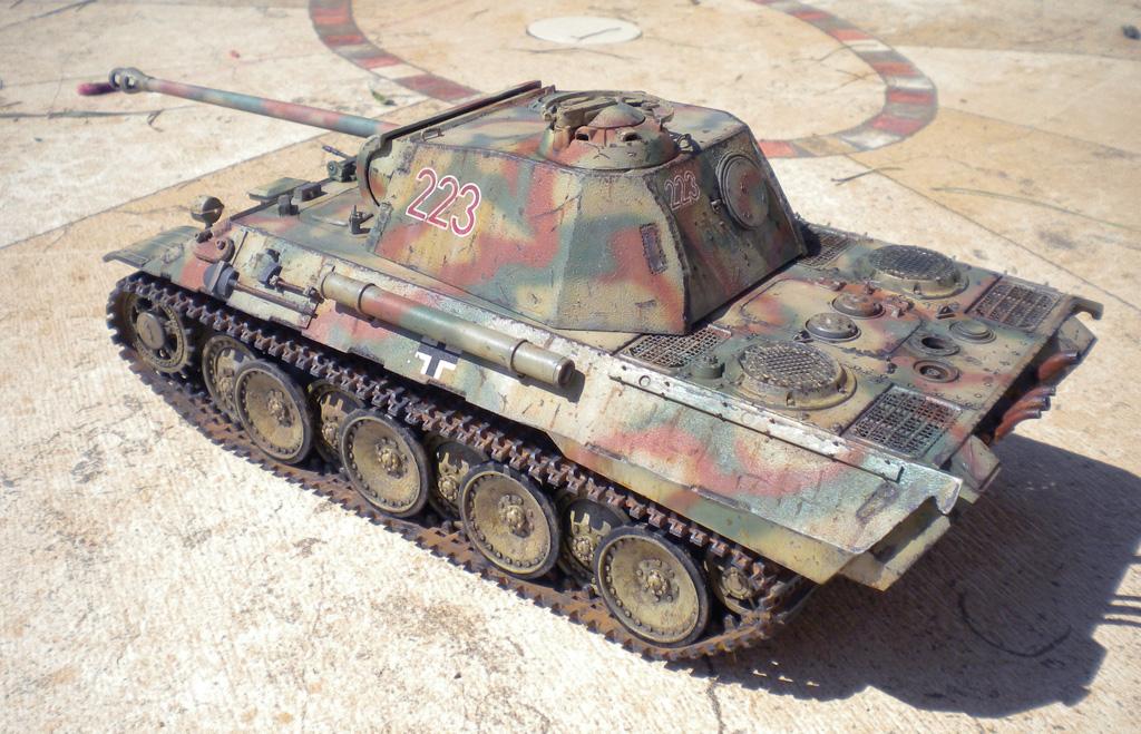 Panther Ausf. A  [1/35 Tamiya] DSCN0457