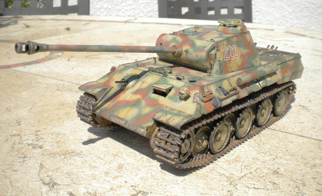 Panther Ausf. A  [1/35 Tamiya] DSCN0458