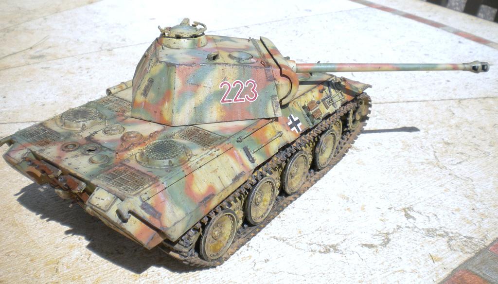 Panther Ausf. A  [1/35 Tamiya] DSCN0460