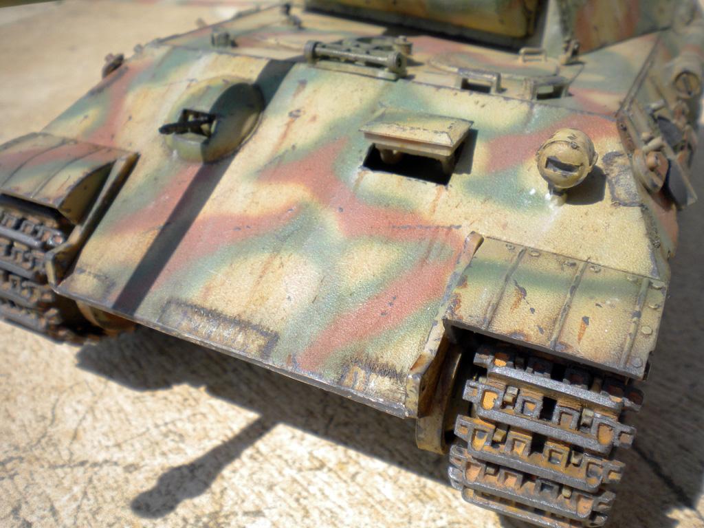 Panther Ausf. A  [1/35 Tamiya] DSCN0464