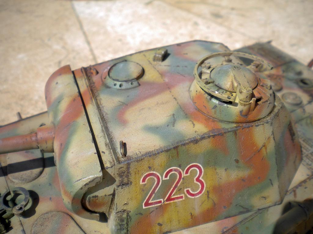 Panther Ausf. A  [1/35 Tamiya] DSCN0465