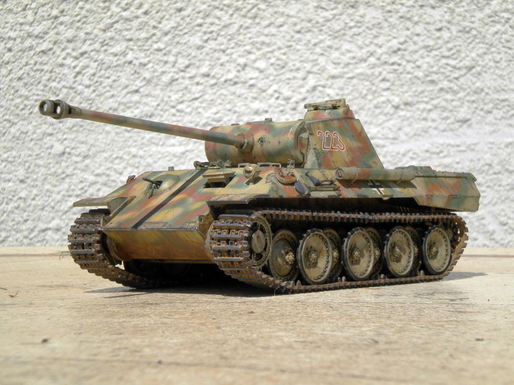 Panther Ausf. A  [1/35 Tamiya] DSCN0470