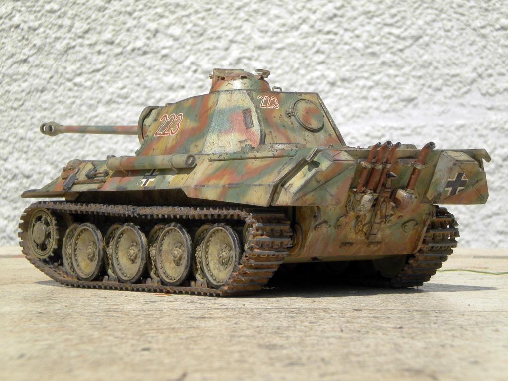 Panther Ausf. A  [1/35 Tamiya] DSCN0471