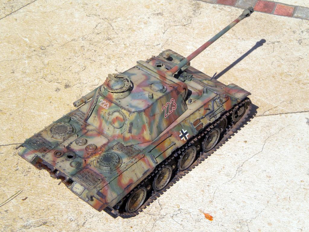 Panther Ausf. A  [1/35 Tamiya] DSCN0472