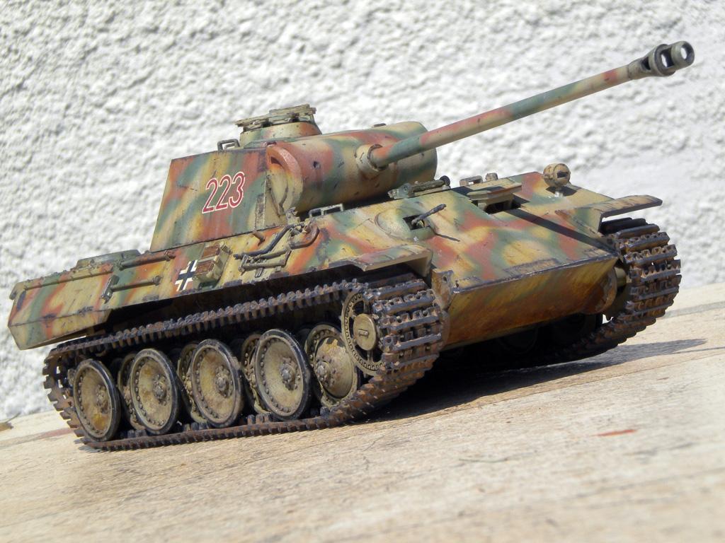 Panther Ausf. A  [1/35 Tamiya] DSCN0474