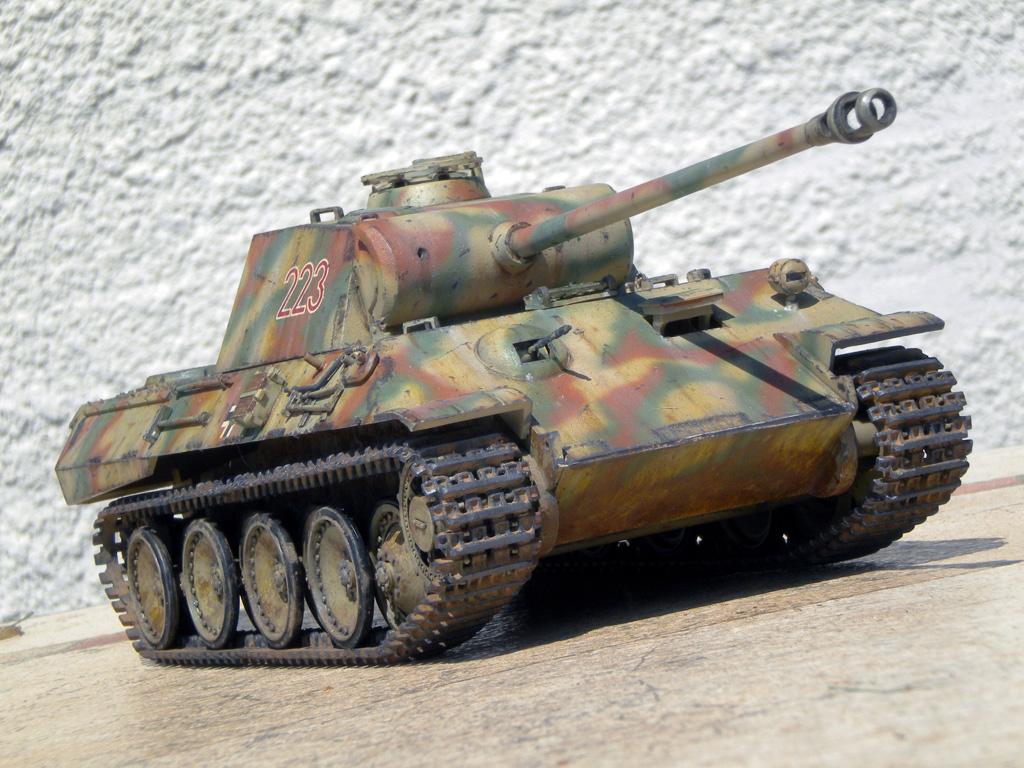 Panther Ausf. A  [1/35 Tamiya] DSCN0475