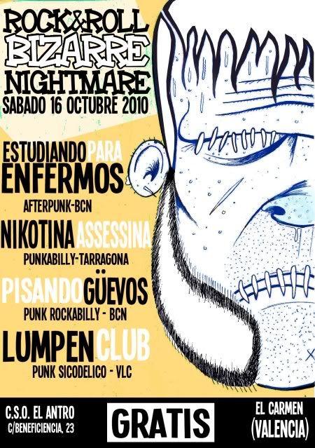 ROCK&ROLL BIZARRE NIGHTMARE - 16 de Octubre [Valencia] 2010-10-05