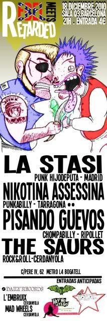 REBEL MEETS RETARDED (MMQB R'N'R PARTY) -  18 de Diciembre - BARCELONA Rebelmeetsretarded