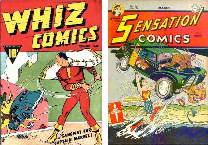 Homenajes a la portada de Action Comics #1 6