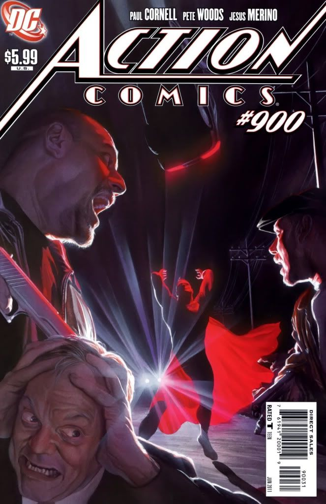 Homenajes a la portada de Action Comics #1 Finalross