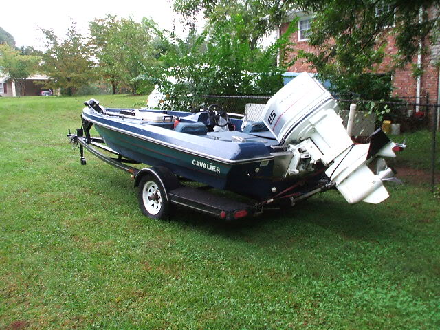Traded the bug for this...Figured I might need it with all the rain!! Bassboat003