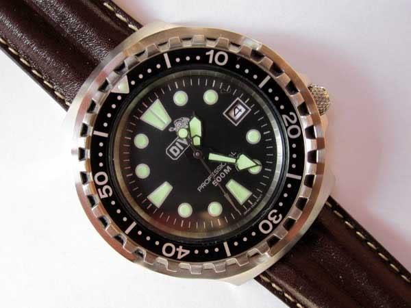 Les montres du GPD (Groupe des Plongeurs Démineurs) de la Marine Nationale Divex500
