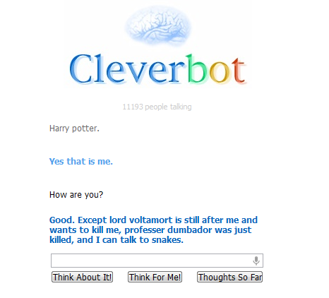 Cleverbot Cleverbot