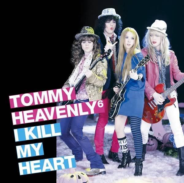 Heavenly 3RD ALBUM  - I KILL MY HEART IKILLMYHEART